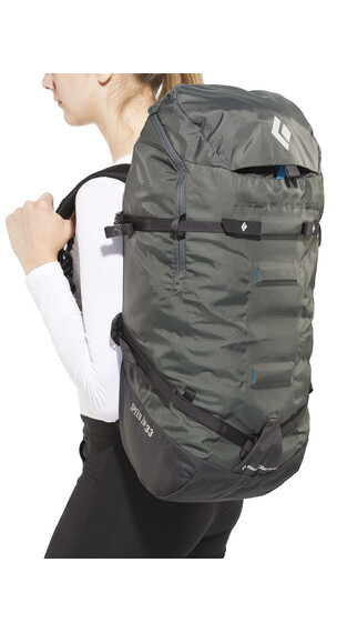 Black Diamond Speed Zip 33l rugzak grijs